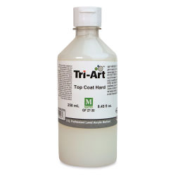 Tri-Art Top Coat Medium - Hard Matte, 8 oz, Bottle