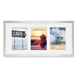 MC Brushed Aluminum Frame - Silver, 10'' x 20''