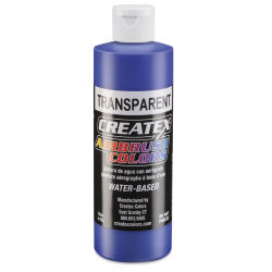 Createx Airbrush Color - 8 oz, Transparent Ultramarine Blue