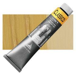 Maimeri Classico Oil Color - Yellow Ochre Light, 200 ml tube