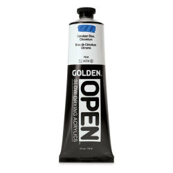 Golden Open Acrylics - Cerulean Blue Chromium, 5 oz, Tube