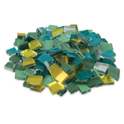 Crafter's Cut Pre-Cut Mosaic Assortment - Solstice Color Family, 16 oz