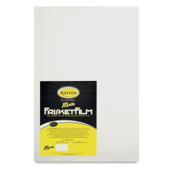 Artool FrisketFilm - 10'' x 15'', Matte, Pkg of 8 Sheets