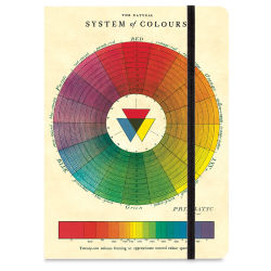 Cavallini Color Wheel Large Notebook