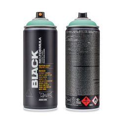 Montana Black Spray Paint - Patina, 400 ml can