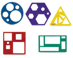 Primary Shapes Template Set