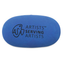 Blick Artists Serving Artists Eraser - Pebble Eraser, Blue