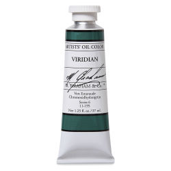 M. Graham Artists' Oil Color - Viridian, 37 ml tube
