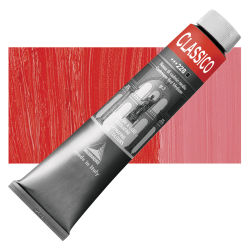 Maimeri Classico Oil Color - Cadmium Red Medium, 200 ml tube