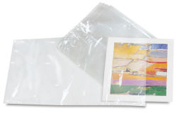 Mountex Shrink Wrap Bags - 12'' x 24'', Archival, Pkg of 10