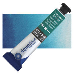 Daler-Rowney Aquafine Watercolors and Sets - Transparent Turquoise, 8 ml, Tube