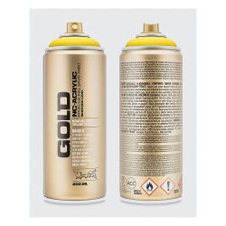 Montana Gold Acrylic Professional Spray Paint - Citrus, 400 ml can