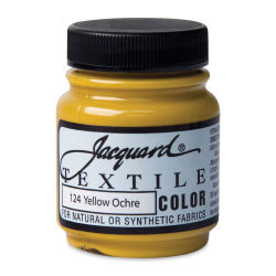 Jacquard Textile Color - Yellow Ochre, 2.25 oz jar