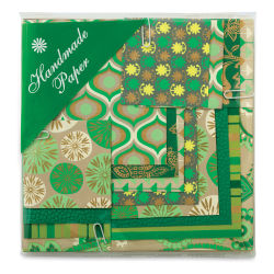 Shizen Mini Decorative Paper Value Packs - Green