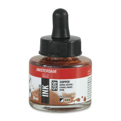 Amsterdam Acrylic Ink - Copper, 30 ml
