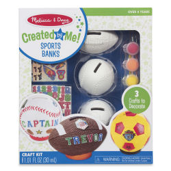 Melissa & Doug Created by Me Banks - Sports, Set of 3