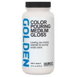 Golden Color Pouring Medium - Gloss, 16 oz