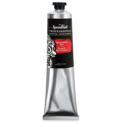 Speedball Professional Relief Ink - Quinacridone Red, 5 oz, Tube