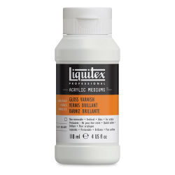 Liquitex Acrylic Varnish - Gloss, 4 oz bottle