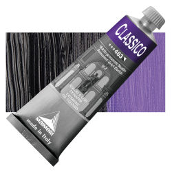 Maimeri Classico Oil Colors - Permanent Violet Blueish, 60 ml tube