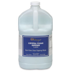 Mayco Crystal Clear Dipping Glaze, Gallon