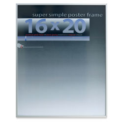 Framatic Super Simple Poster Frame - Silver, 16'' x 20''