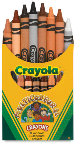 Multicultural Colors Crayons
