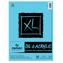 Canson XL Oil and Acrylic Pad - 9'' x 12'', 24 Sheets