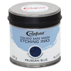 Caligo Safe Wash Etching Ink - Prussian Blue, 250 g Can