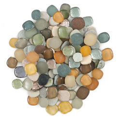 Diamond Tech Pebble Mix - Metallics Mix, 1.5 lb