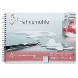 Hahnemühle Harmony Watercolor Pad - 8.27'' x 11.69'', Cold Press, 140 lb (300 gsm)