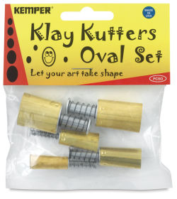 Set of 5 Cutters, Oval