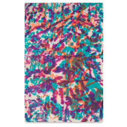 Screenprinted Lokta Paper - Tie Dye, Multicolor, 20'' x 30''