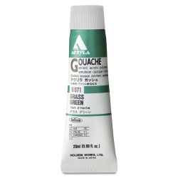 Holbein Acryla Gouache - Grass Green, 20 ml tube