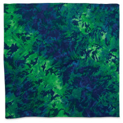 Carolina Tie Dye Bandana - Blue and Green, 22'' x 22''