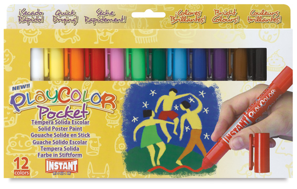 Playcolor - Standard Colors, Set of 12, Pocket Sized