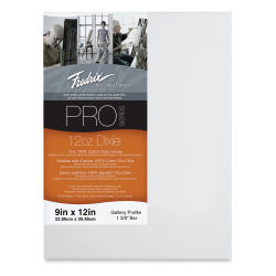 Fredrix Pro Series Dixie Gallery Profile Canvas - 9'' x 12'', 1-3/8'' Profile