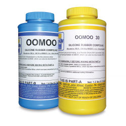 Smooth-On Oomoo 30 Silicone - 2.8 lbs