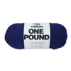 Caron One Pound Acrylic Yarn - 1 lb, 4-Ply, Royalty