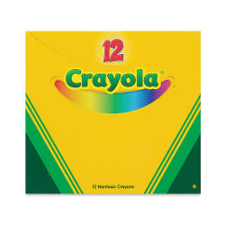 Crayola Crayons - Box of 12, Silver