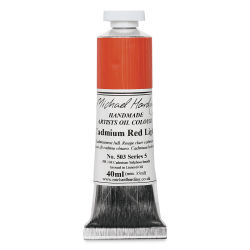 Michael Harding Artists Oil Color - Cadmium Red Light, 40 ml tube