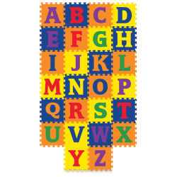 Creativity Street WonderFoam Carpet Tiles - Alphabet