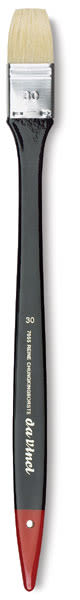 Da Vinci Maestro 2 Hog Bristle Spalter Brush - Flat, Long Handle, Size 30