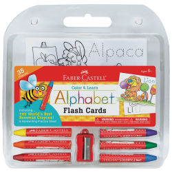 Faber-Castell Color and Learn Alphabet Flash Cards