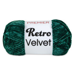Premier Retro Velvet Yarn - Emerald