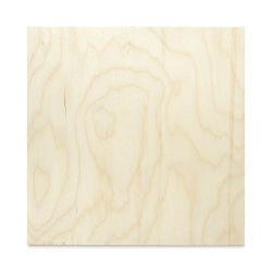 Midwest Studio Birch Artist Panel - 12'' x 12'', 9 mm