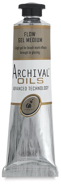 Chroma Archival Oils Flow Gel Medium