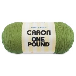 Caron One Pound Acrylic Yarn - 1 lb, 4-Ply, Grass Green