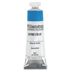 Williamsburg Handmade Oil Paints - Severs Blue, 37 ml tube