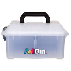 ArtBin Sidekick Cube with Paint Palette Tray (front view)